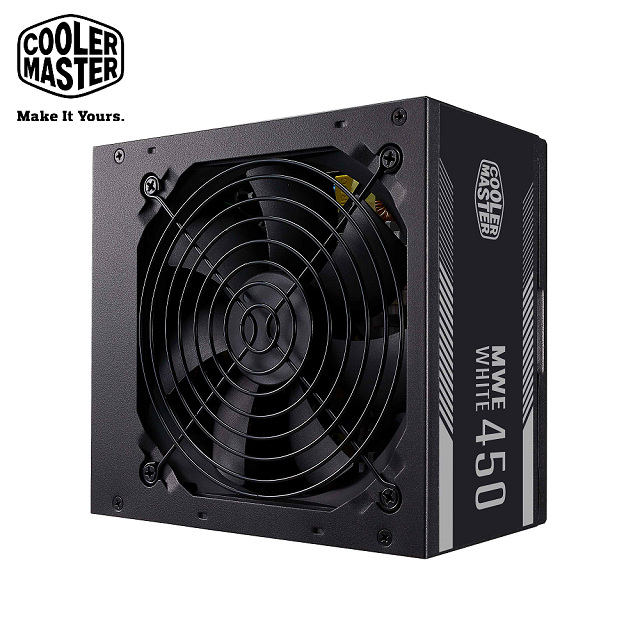 Cooler Master MWE WHITE V2 80Plus白牌 450W 電源供應器