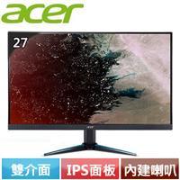 Acer宏碁 VG270K 27型 IPS無邊框電競寬螢幕