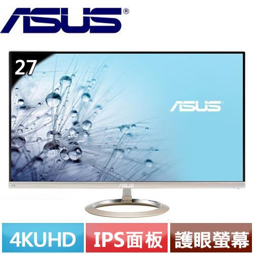 ASUS華碩 MX27UCS 27型 4K UHD 護眼螢幕
