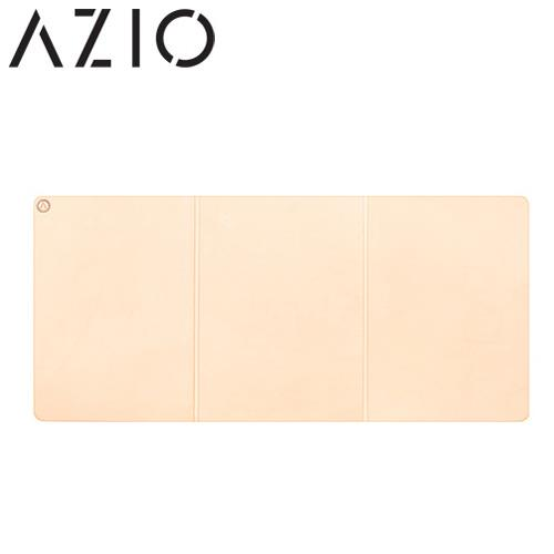 AZIO RETRO CLASSIC 義大利手工牛皮桌墊(摺疊式)裸膚色