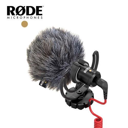 RODE 全向性機頂麥克風(含兔毛) VMICRO【公司貨】
