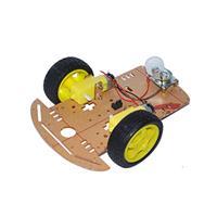 2輪驅動智能自走車車體