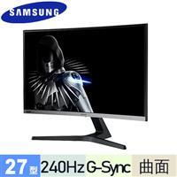 R1【福利品】SAMSUNG三星 27型 C27RG50FQC 曲面電競螢幕