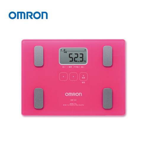 OMRON體重體脂肪計 HBF212TWPK