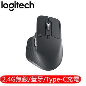 Logitech 羅技 MX Master 3 無線藍牙多工滑鼠 黑色