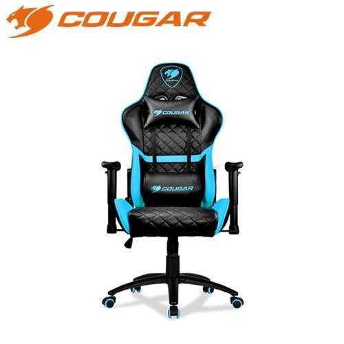 COUGAR 美洲獅 ARMOR ONE 藍 電競椅