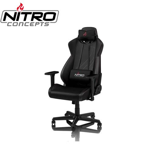 Nitro Concepts S300EX  電競椅 PU材質-碳纖黑