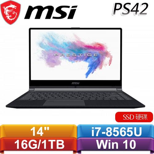 MSI微星 PS42 Modern 8MO-408TW 14吋新世代筆電