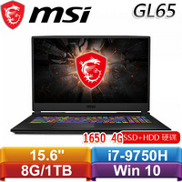 MSI微星 GL65 9SCK-014TW 15.6吋戰鬥電競筆電