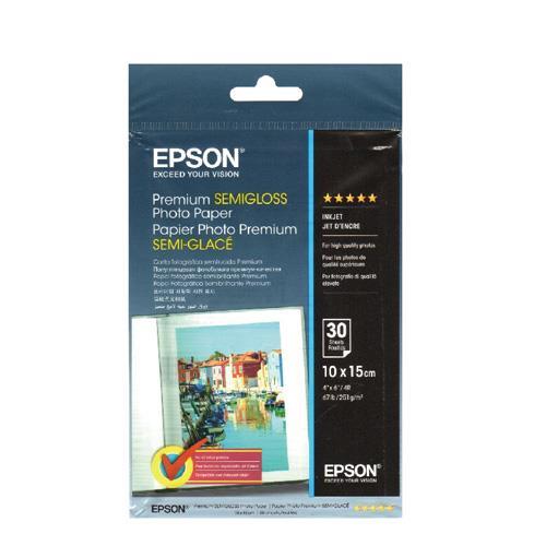 EPSON 頂級柔光4x6相片紙S041874