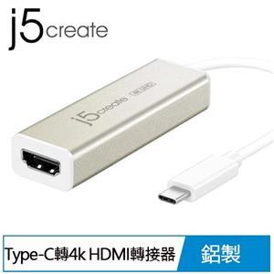 j5 JCA153 USB Type-C轉4k HDMI轉接器