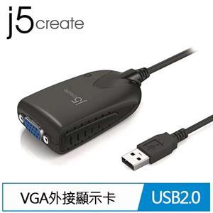 j5 JUA170 USB 2.0 VGA 外接顯示卡