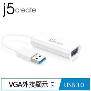 j5 JUA214 USB 3.0 to VGA外接顯示卡