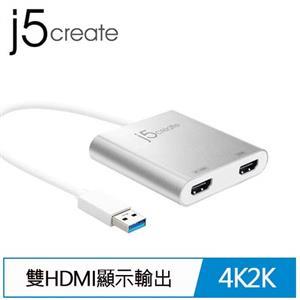 j5 JUA365 USB3.0 to HDMI雙外接顯卡