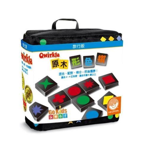 桌上遊戲 原木形色棋 旅行組