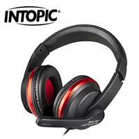 INTOPIC頭戴式耳機麥克風JAZZ-567