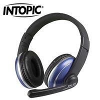 INTOPIC頭戴式耳機麥克風JAZZ-565