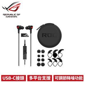 ASUS 華碩 ROG Cetra 主動降噪入耳式電競耳機(Type-c接頭)