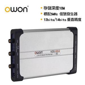 OWON 全新USB介面100MHZ雙通道示波器 VDS6102
