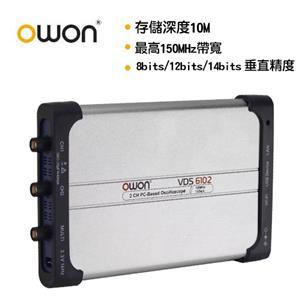 OWON 全新USB介面150MHZ/14bit高解析雙通道示波器 VDS6152A