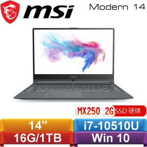 MSI微星 Modern 14 A10RB-831TW 14吋窄邊框輕薄創作者筆電
