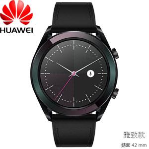 HUAWEI WATCH GT 智慧手錶 雅致款 (黑色)