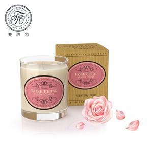 英國賽玫特Somer自然歐洲植物蠟香氛蠟燭200g-玫瑰花瓣