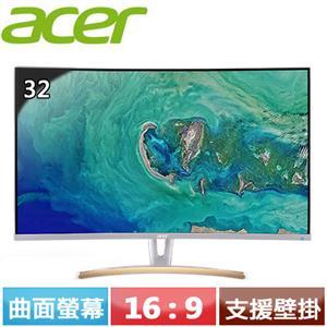 R1【福利品】Acer宏碁 ED323QUR 32型 曲面螢幕