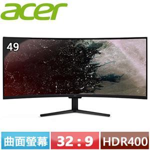 R1【福利品】Acer宏碁 EI491CR P 49型 VA曲面電競螢幕