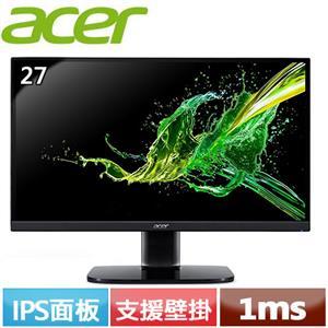 R1【福利品】Acer宏碁 KA272 27型 極速FreeSync窄邊框電競螢幕