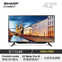 SHARP 42型聯網LED顯示器  2T-C42BE1T