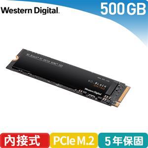 WD 威騰 黑標 SN750 500GB NVMe PCIe SSD固態硬碟