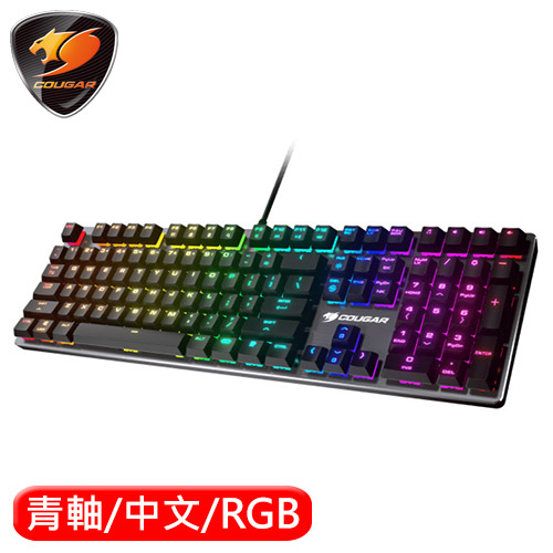 COUGAR 美洲獅 VANTAR MX 機械電競鍵盤 青軸
