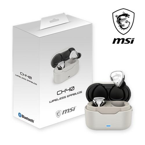 MSI CH40 Wireless Earbuds 無線藍芽耳機
