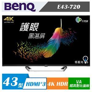 BenQ E43-720 43型 4KUHD HDR Android 9.0 液晶顯示器(無視訊盒)