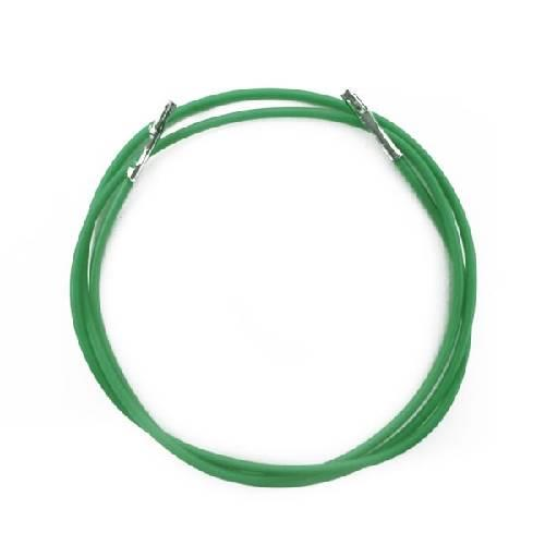 杜邦線【雙頭】26AWG 綠色 1315B-G (100條)  45cm