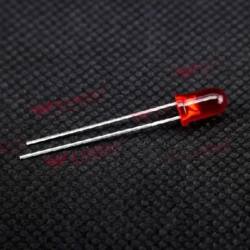 LED 5mm  紅光 0738-R (20入)