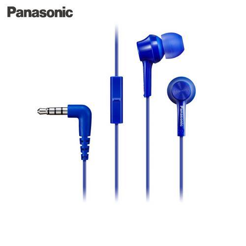 Panasonic 手機用耳道式耳麥 RP-TCM105-A 藍色