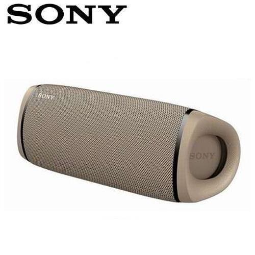 SONY 可攜式重低音無線藍牙喇叭 SRS-XB43-C 卡其
