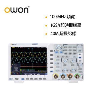 OWON 100MHz四通道示波器 XDS3104AE-14bit高解析