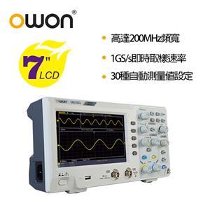 OWON 全新SDS系列200MHz 輕巧示波器 SDS1202