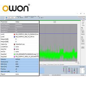 OWON EMCView電磁相容性測試軟體(需搭配XSA頻譜分析儀,不可單獨購買) EMC01