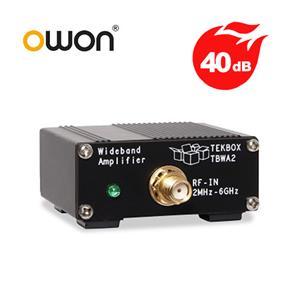 OWON 40dB寬頻放大器(搭配頻譜分析儀與近場探棒使用) W002