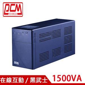 PCM科風 1500VA 在線互動式UPS 不斷電系統 BNT-1500AP