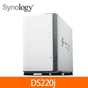 Synology群暉科技 DS220j 網路儲存伺服器
