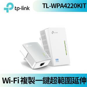 TP-LINK TL-WPA4220KIT(US) 300Mbps AV600 Wi-Fi電力線網路橋接器 雙包組 V4