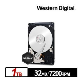 WD10SPSX 黑標 1TB(7mm) 2.5吋 SATA硬碟