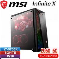 MSI微星 Infinite X Plus 9SC-407TW 電競桌機