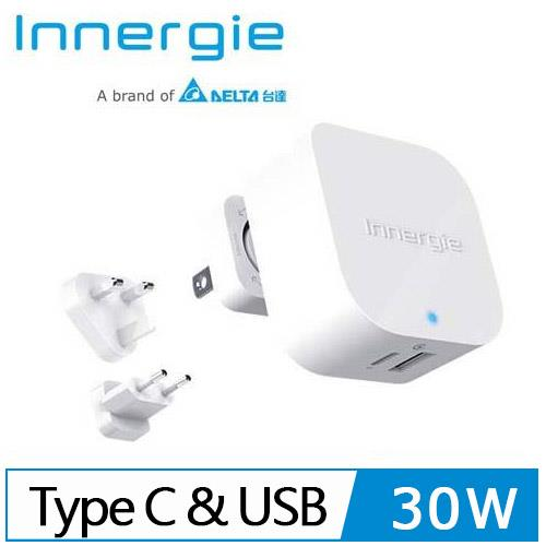 Innergie PowerJoy 30C 5.4A雙孔 USB-C極速充電器
