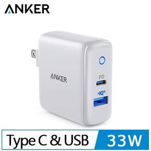 Anker PowerPort充電座(白)PD+Power IQ 33W A2626